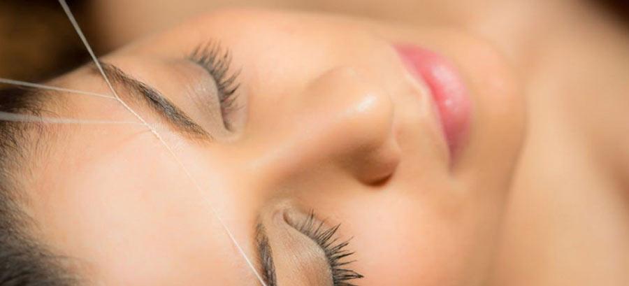 ¿Qué es la depilación con hilo hindú?